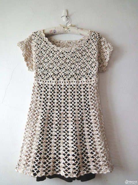 Croshay Design Crochet Patterns : crochet chart Crochet Jacket #2dayslook #CrochetfashionJacket www ...