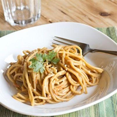 Asian Peanut Noodles | Pasta | Pinterest