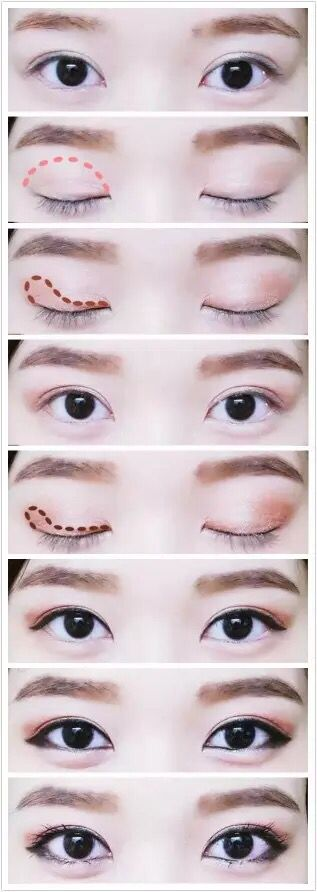 Как сделать макияж чтобы быть похожей на кореянку