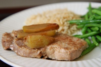 Simply Delicious Apple Pork Chops, really good simple recipe.