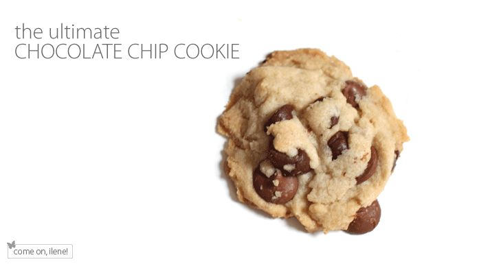 the ULTIMATE chocolate chip cookie. i'm a firm believer in crisco in ...