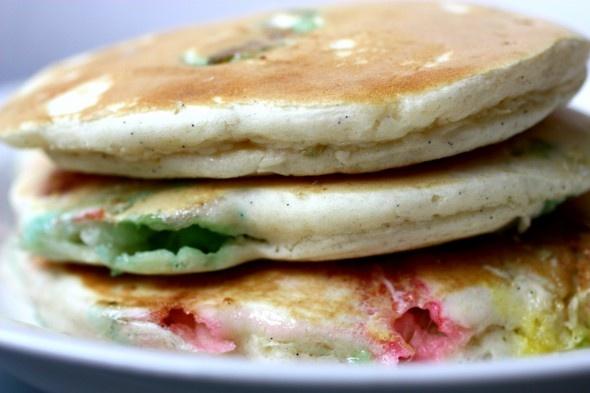 Peepcakes. Peep Pancakes. #Easter