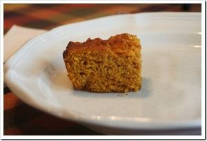 ... Pumpkin and cornbread! AND it is Gluten Free! Pumpkin Cornbread Recipe