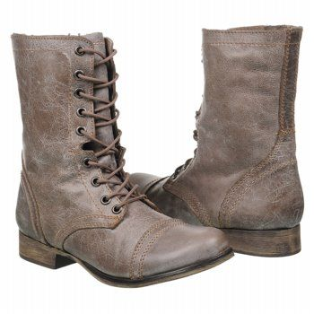 Lace Up Boots: Steve Madden Troopa boots
