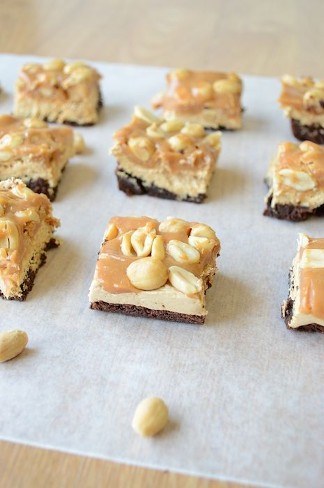 Snickers Brownie Bites. | Projects to Try | Pinterest