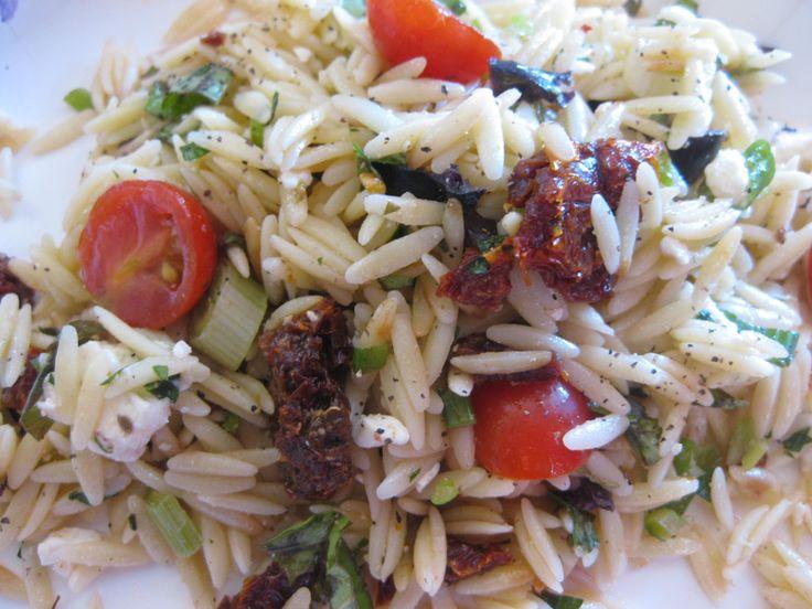 Summer of Salads: Mediterranean Pasta Salad