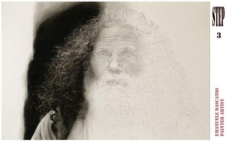 ... Dascanio   Pencil Art (Male Portraiture)...or Pencil-y CGI o