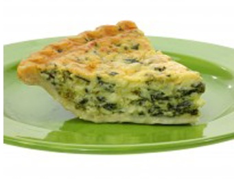 asparagus and spinach quiche, with feta! | Food! | Pinterest