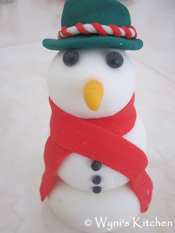 One yummy snowman!!!