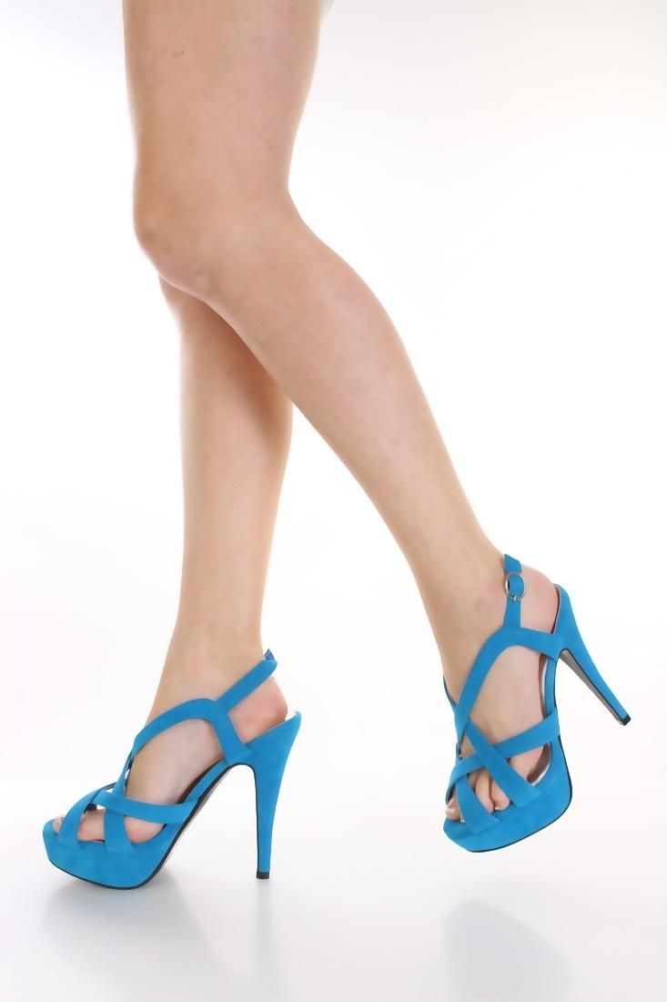 light blue velvet strappy heels. Black Bedroom Furniture Sets. Home Design Ideas