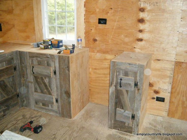 Reclaimed Wood Kitchen Cabinets Kitchen Cabinets Made From Reclaimed Salvaged Barnwood