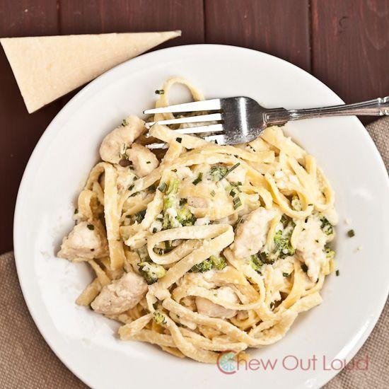 Creamy, Cheesy Fettuccine Alfredo (with Chicken) | Recipe