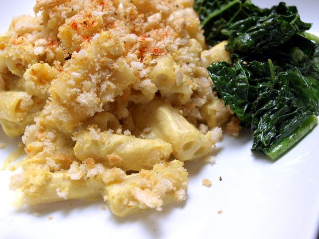 Vegan Mac & Cheese Bake   macs and cheese   Pinterest