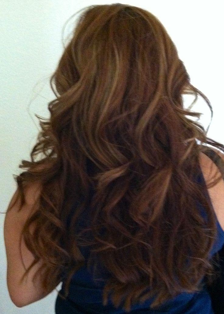 Light Warm Brown Hair Color | Dark Brown Hairs