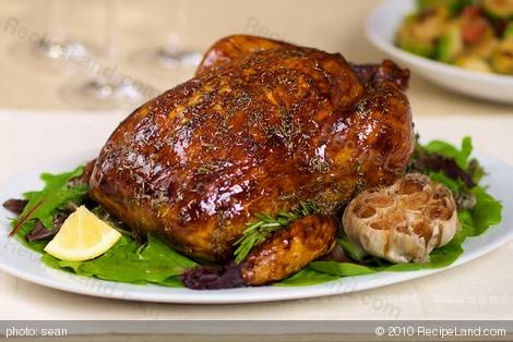 chicken is a great way to economize. This herb roasted chicken ...