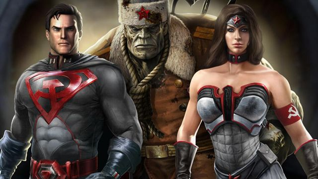 Injustice - Red SonRed Son Wonder Woman Injustice