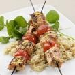 Grilled Rosemary-Salmon Skewers Recipe - would be yummy with some ...