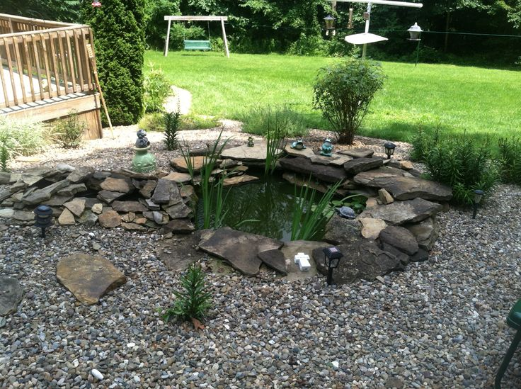Fish pond was our old hot tub hot tub pinterest for Koi pond tubs