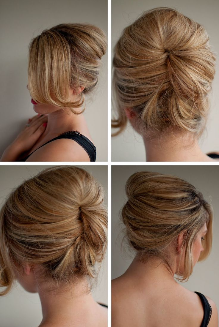 Relaxed Beehive Hairstyle