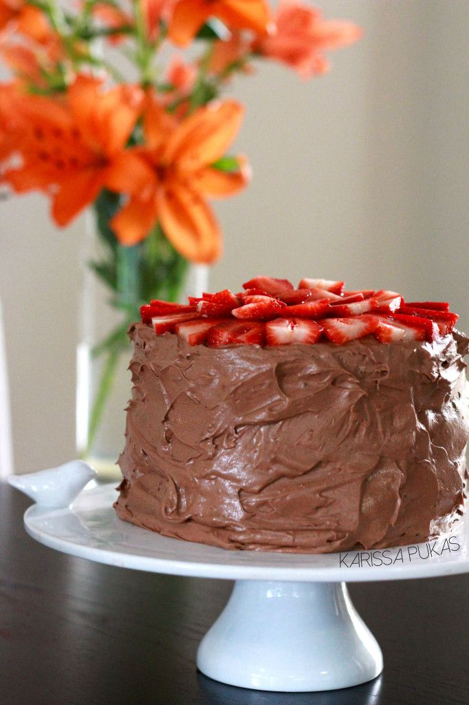 EASY Vegan Chocolate Cake Recipe