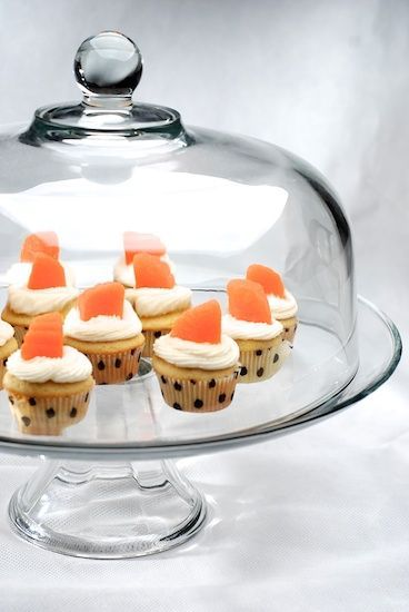 orange vanilla bean cupcakes | Just Pin it! | Pinterest