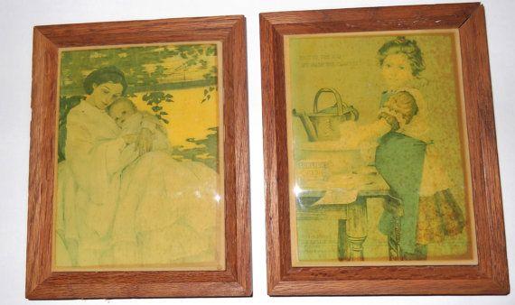 Vintage Art Tiles / Kimberly Enterprises Inc. by SusieSellsVintage, $30.00