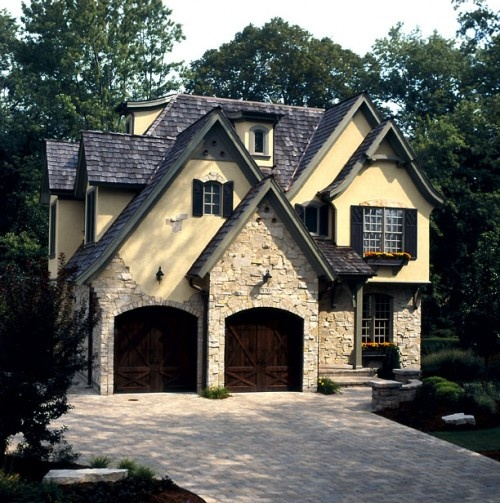 Country shutter paint colors french garage doors design for French country garage doors