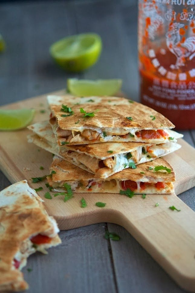 Key West Spicy Chicken Quesadillas | Recipes | Pinterest