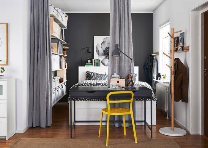 Hálószoba berendezés - Megoldások apró (háló)szobákba - Interiors