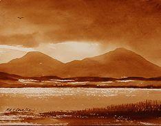 Watercolour Monochrome Landscape - Lesson - Simply Painting.com (Senior Art)