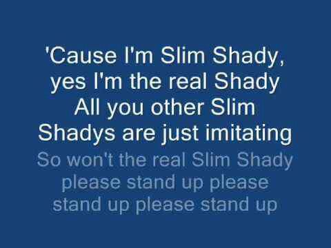 Eminem - The Real Slim Shady (Edited) - YouTube