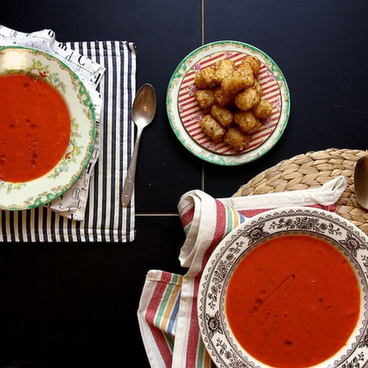 Tomato Zucchini Soup III Recipe | must try recipes | Pinterest