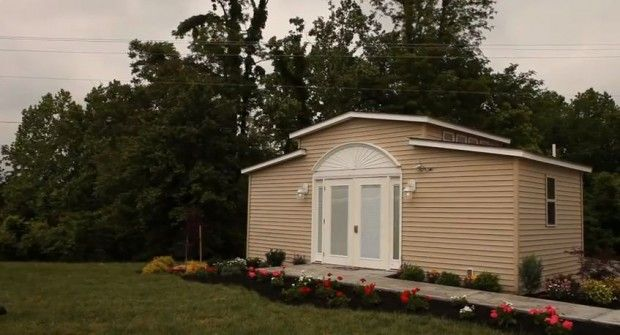 medcottage high tech granny pods allow elderly family members