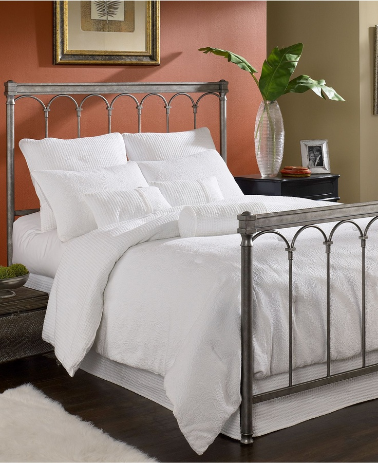 marsala gleam queen bed metal bed frame mattresses macys 497