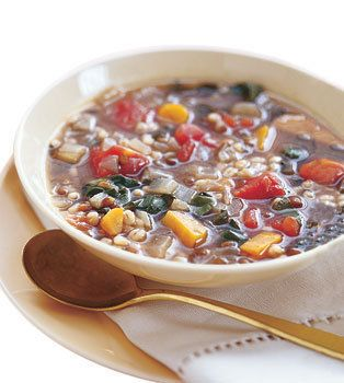 Barley and Lentil Soup with Swiss Chard | looks delicious | Pinterest
