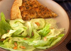 Butter Lettuce and Pumpkin Seed Salad | Recipe