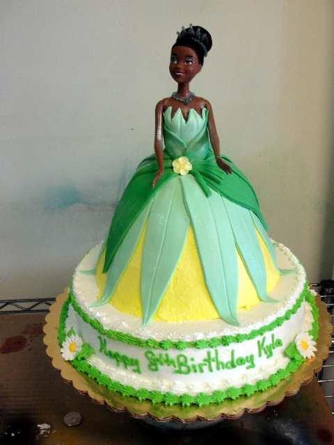 Princess Tiana Cake Images : Princess Tiana cake