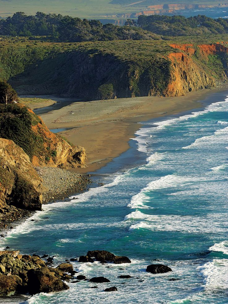 San Simeon Coastline California Pinterest