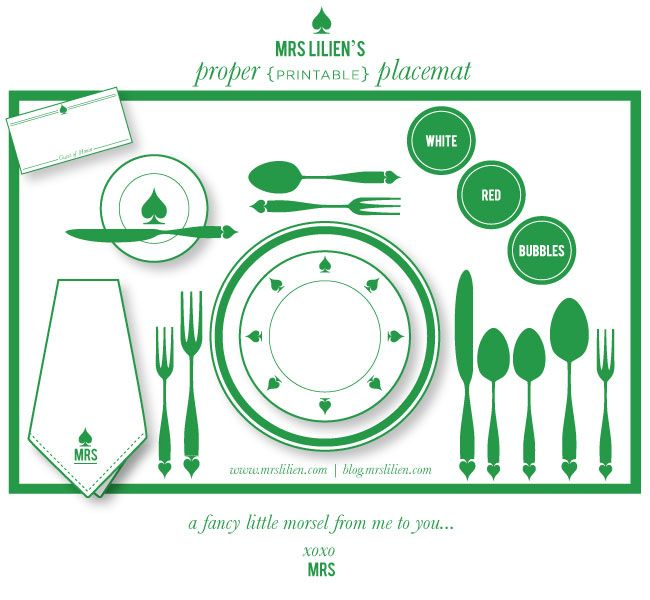 How do you set a table? Here is a template to start with...#tablesetting #etiquette