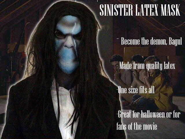 Sinister mask bagul halloween costume demon insidious 2 ...