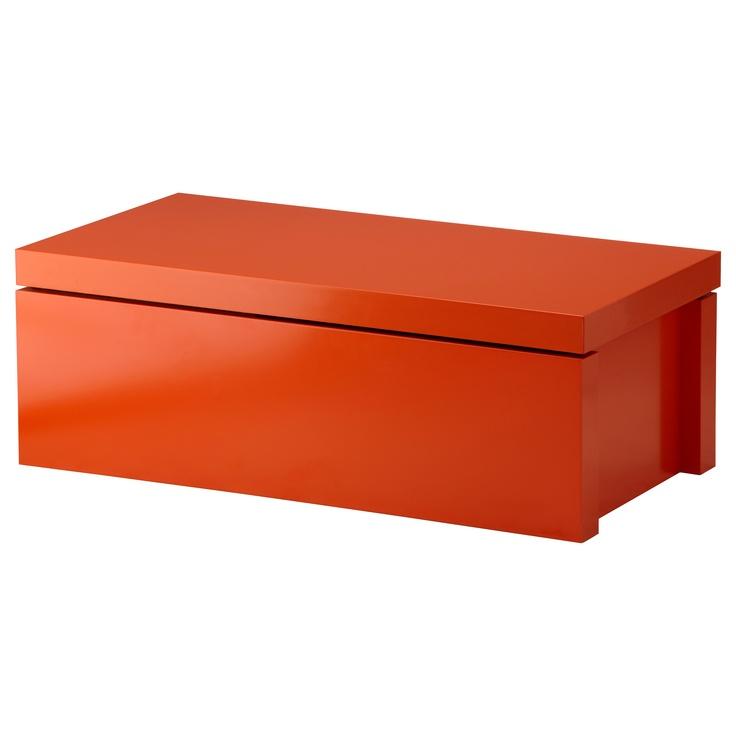 Malm meuble de rangement orange ikea osb pinterest - Ikea meuble rangement ...