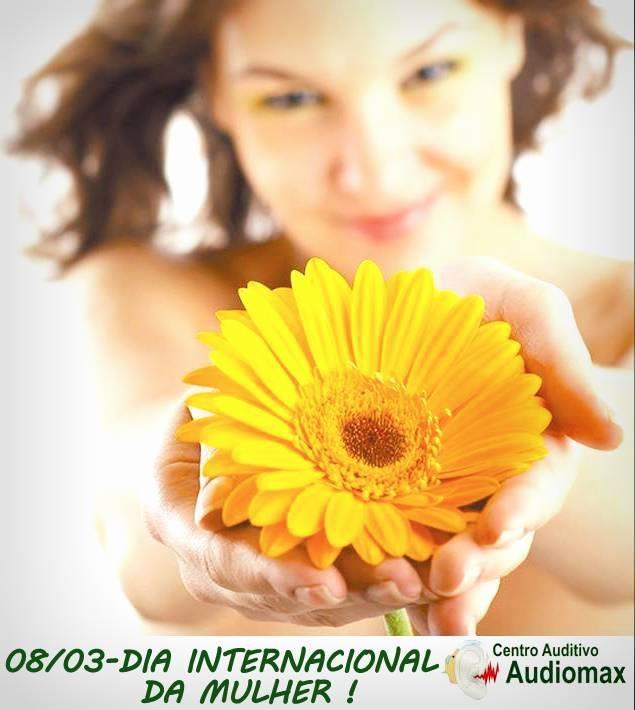 Dia internacional da mulher! | Audiomax | Pinterest
