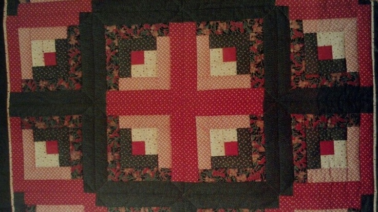 My Favorite Style Of Quilt Log Cabin Quilts Pillows