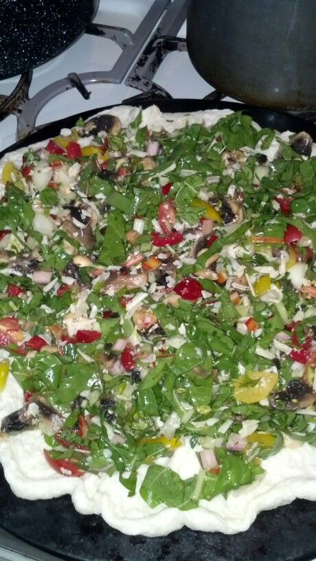 Swiss Chard Pizza | Yummy Nummies | Pinterest