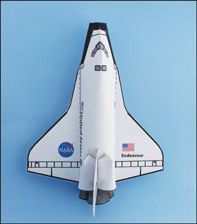 space shuttle craft ideas - photo #19