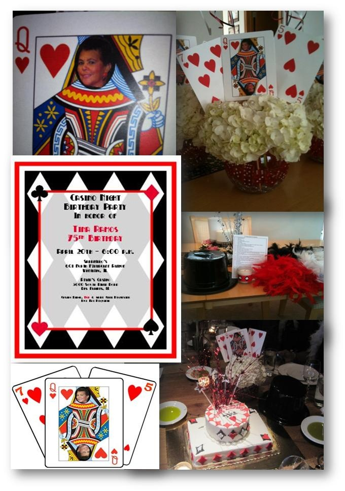 Mom 39 s 75th birthday party for 75th birthday decoration ideas