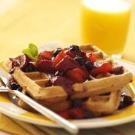 Banana Hazelnut Waffles | Recipe