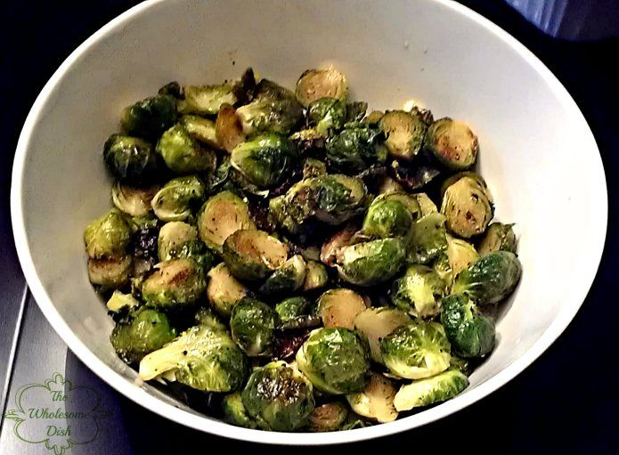 Maple Syrup Roasted Brussels Sprouts | Recipe