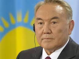 02 - PRESIDENTE Nursultan Nazarbayev, de Kasajistán