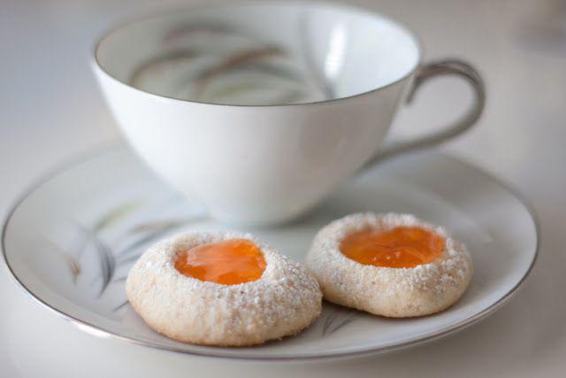 Apricot Thumbprints | Morning Tea Morsels | Pinterest